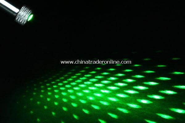 5mw 532nm Open-back Star-projected Green Laser Pointer Pen from China