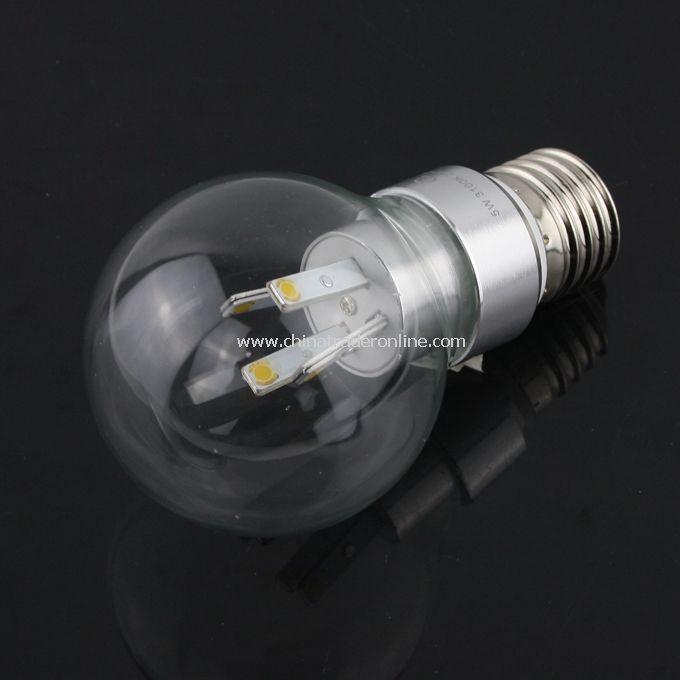 E27 5W 320LM 85-265V Warm White Bright COB LED Lamp Light Bulb
