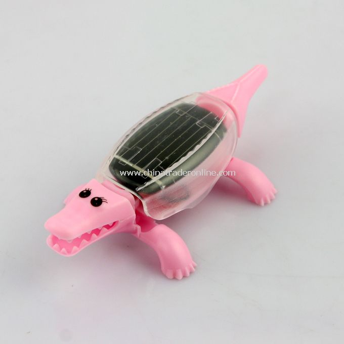 Educational Solar powered Mini Crocodile Toy Gadget Gift