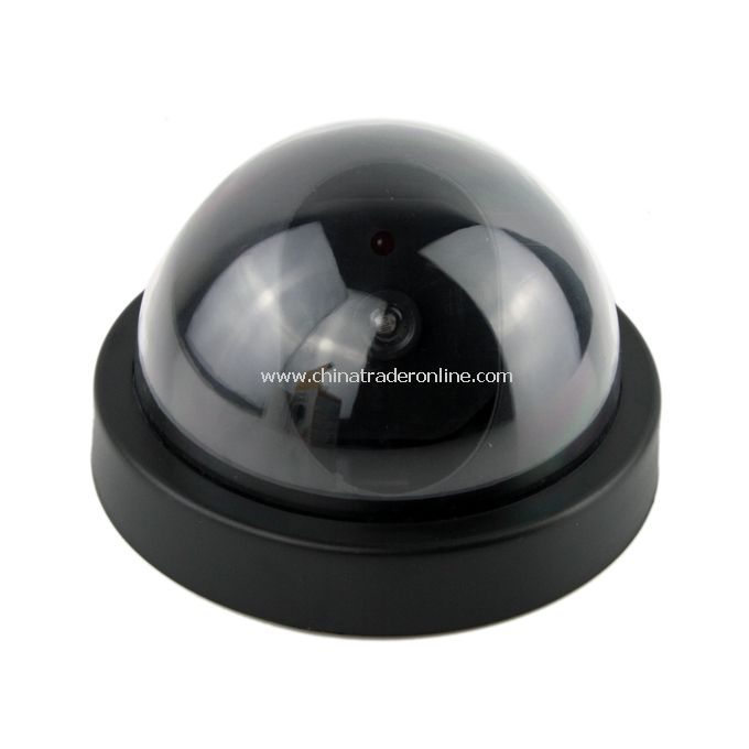 FAKE DUMMY DOME SECURITY CAMERA MOTION DETECTOR LED NEW