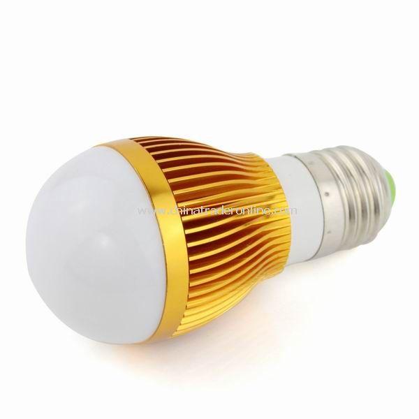 New 3W E27 Screw Spotlight LED Light Bulb Lighting Lamp