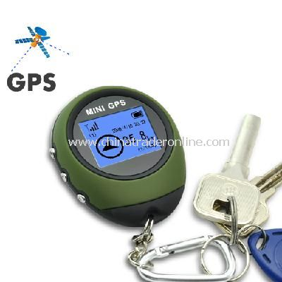 GPS Receiver + Location Finder Keychain (PG03 Mini GPS) from China