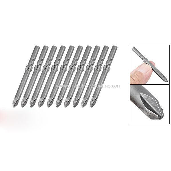 10PCS 3mm Top Screwdriver Philips Bits Electric Tool