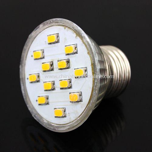 5W E27 LED Bulb Spotlight 12LEDs SMD 5630 220V Warm White