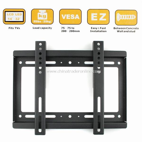 New Wall Mount for 14-32 Flat Panel Screen LCD/Plasma TV Monitor from China