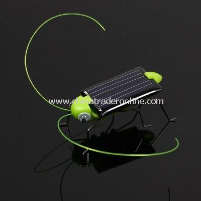 Solar Power Robot Insect Bug Locust Grasshopper Toy kid from China