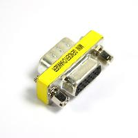 15 Pin SVGA VGA Male to Female Gender Changer Adapter