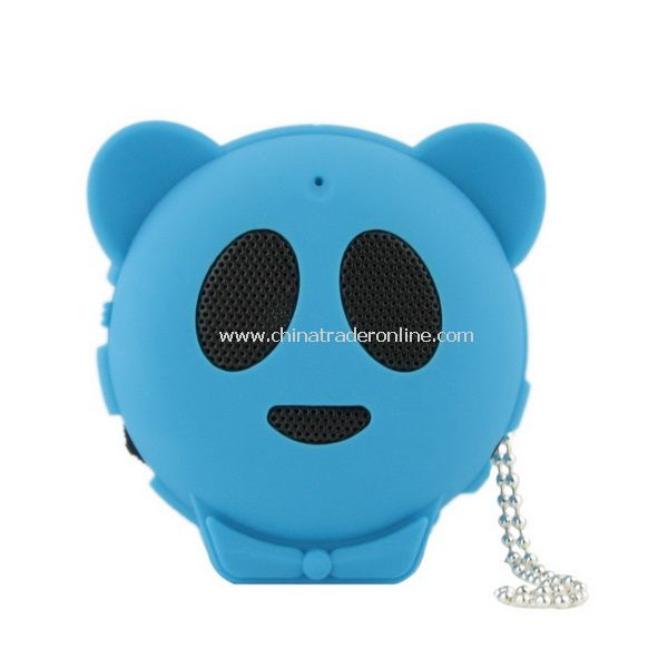 Hot Mini Panda Shape Speaker for MP3 MP4 PC iPod iPhone