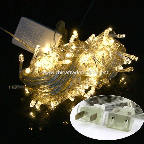 New Christmas Tree Wedding Party Warm White LED Light 10m w/ End Plug 110V