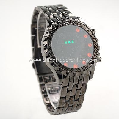 NEW Mens High Definition LED Armbanduhr Analog Wrist Watch from China