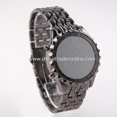 NEW Mens High Definition LED Armbanduhr Analog Wrist Watch