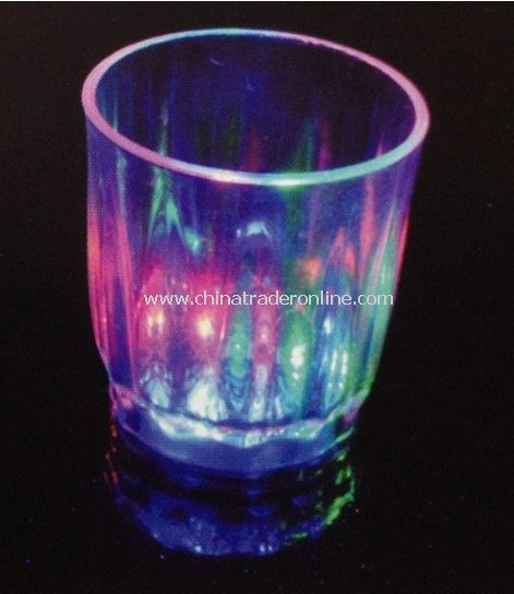LED Party Cup, Flashing Glass