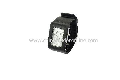 New Fashion Men Womens 4 Colors 31 Flash LED Digital Sport Watch Black