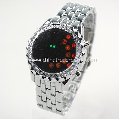 NEW Mens High Definition LED Armbanduhr Analog Wrist Watch