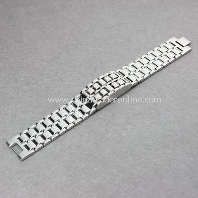 Stainless Steel LED BLUE Digital Unsex Bracelet Watch