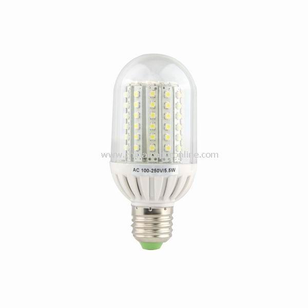5.5W E27 90 SMD LED Bulb Light lamp 100-250V Cool White