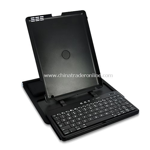 360 Degree Adjustable Bluetooth Slider Keyboard Case for iPad 2