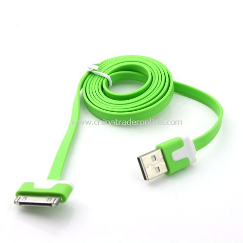 Double color data line to iPad iPhone iPod data transmission from China