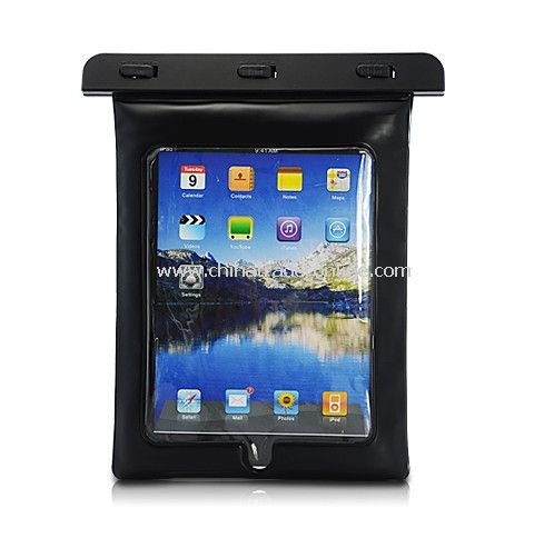 High Quality Waterproof Bag for iPad 2 / iPad and Other Similar Size Digital Products