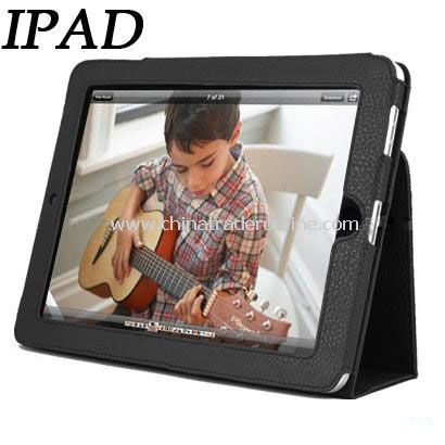 Hot applied to Apples IPAD tablet computer leather folding bracket