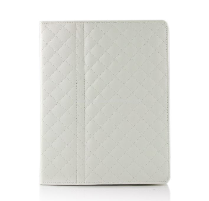 New Folio Magnetic Smart Leather Case Cover for iPad 2 White