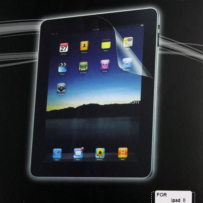 NEW Screen Protector Guard Clear Film for Apple iPad 2