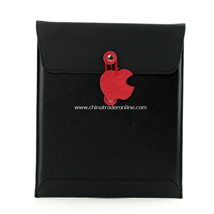 New Slim Leather Envelope Case Cover Pouch Bag for iPad 2 Black