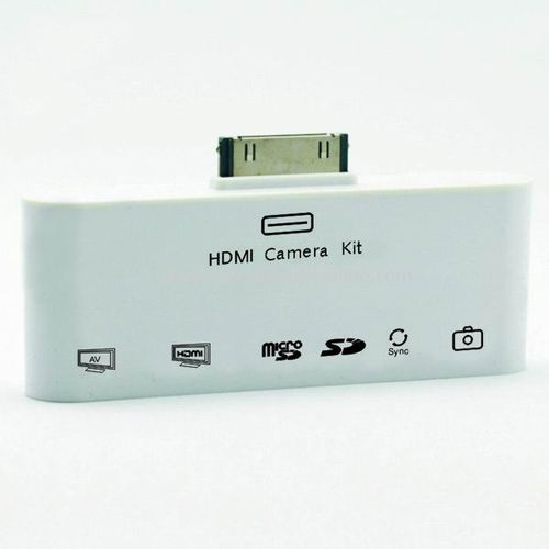 6in-1 HDMI Dock Camera Connection Kit Adapter USB AV Video Cable For iPad 2 AC8
