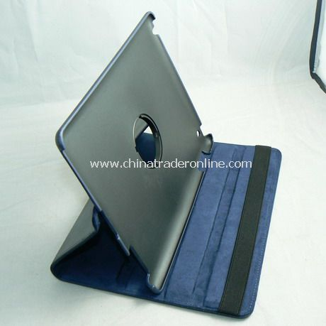 APPLE IPAD 2 LEATHER CASE COVER W/STAND Deep Blue