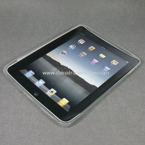 Clear TPU Gel Back Case Skin Cover for Apple iPad