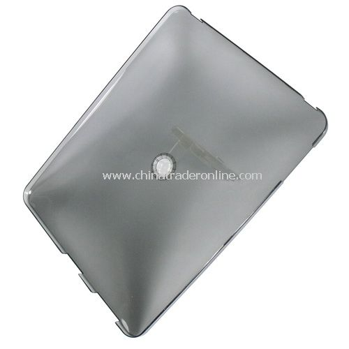 Hard Crystal Cover Clear Case for Apple iPad with Stand