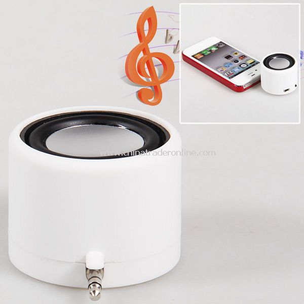 Mini Surround Sound USB Mobile Speaker with 3.5mm Jack for iPhone 4/4S, Pad, Flat Computer, etc