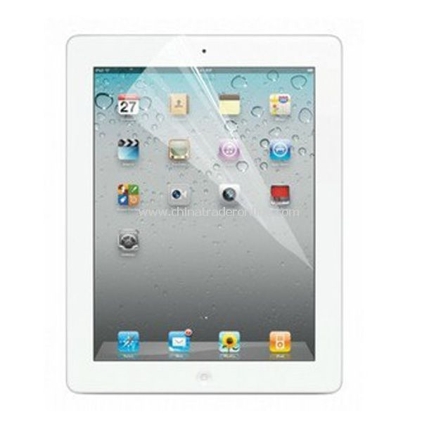 NEW Screen Protector Guard Clear Film for Apple iPad 2 iPad 3 from China