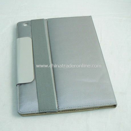 PU Leather Cover Case for iPad 2 GRAY