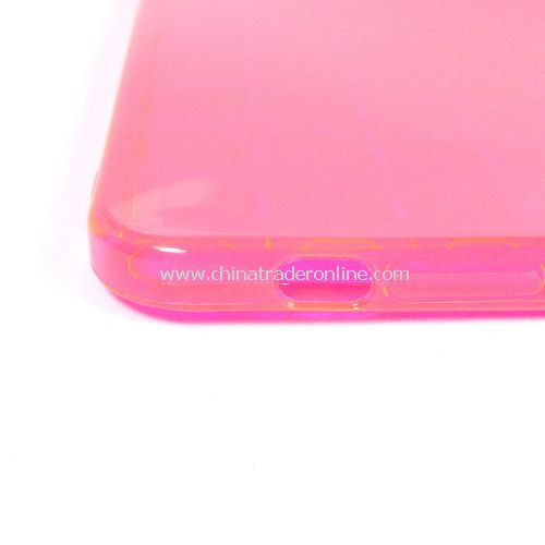 TPU Gel RED Back Case Skin Cover for Apple iPad