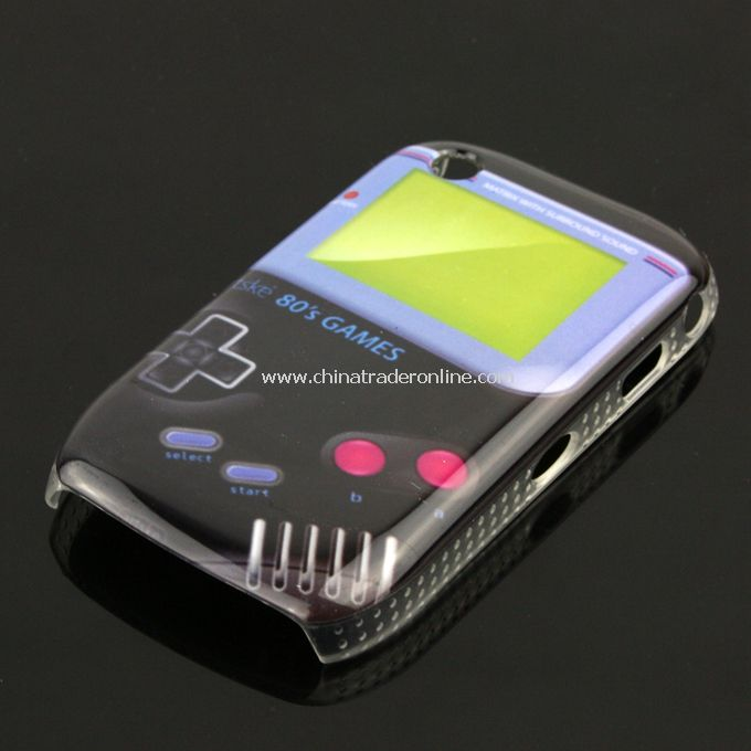 New Game Boy Design Case Cover Skin Protector for Blackberry 8520/8530 from China