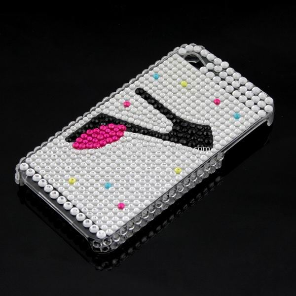 Rhinestone Bling HARD BACK CASE Cover for iPhone 4G 4 New