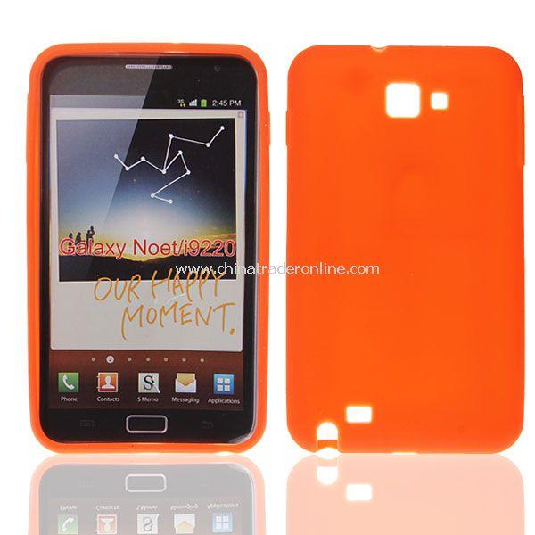 Stylish Silicone Case for Samsung Galaxy Note I9220 GT-N7000