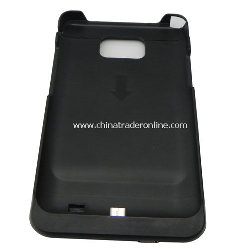 capacity 1000 mAh battery case for SAMSUNG galaxy SII i9100 from China