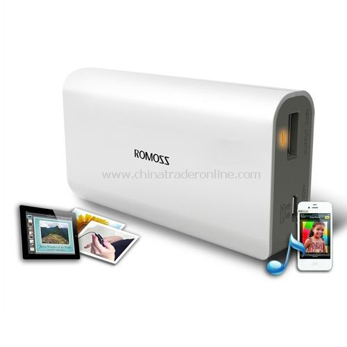 Romoss PH20-S 5200mAh Mobile Power Bank Backup External Battery Charger for Phone USB Device