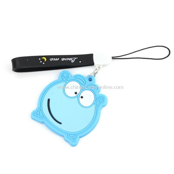 Silicone Pig Frog shaped Mobile Phone chain