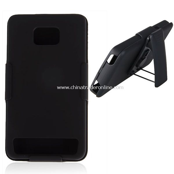 Hard Case + Smart Belt Clip & Stand Bracket for Samsung Galaxy S II i9100