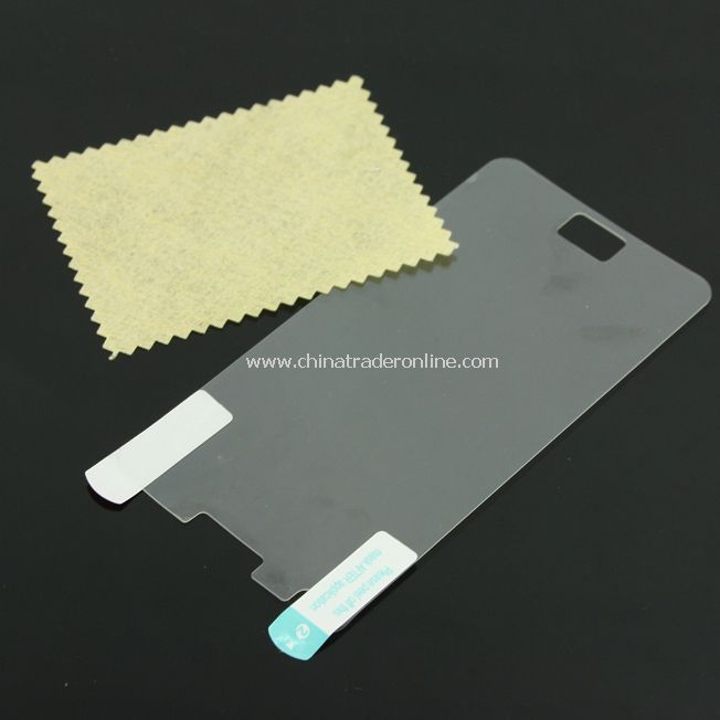 Clear Screen Protector Film for Samsung i9100 Phone