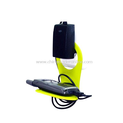 Foldable Mobile Cell Phone MP3 Charge Charging Wall Holder Shelf