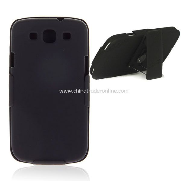 Hard Case + Smart Belt Clip & Stand Bracket for Samsung Galaxy Note i9220 from China