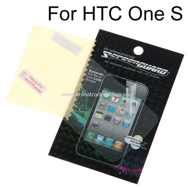 LCD Screen Protector Film for HTC One S