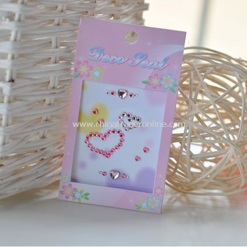 Lovely Cell Phone PDA iPod NDS Sticker DIY New from China