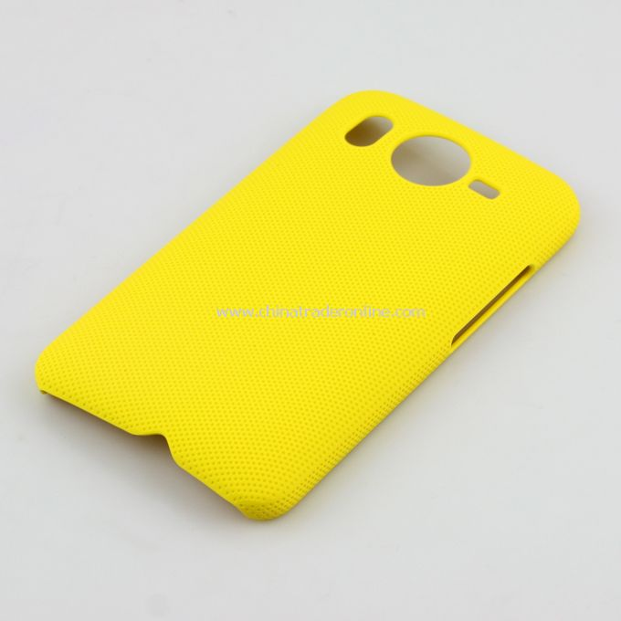 Plastic Hard Case Cover for HTC G10 Yellow from China