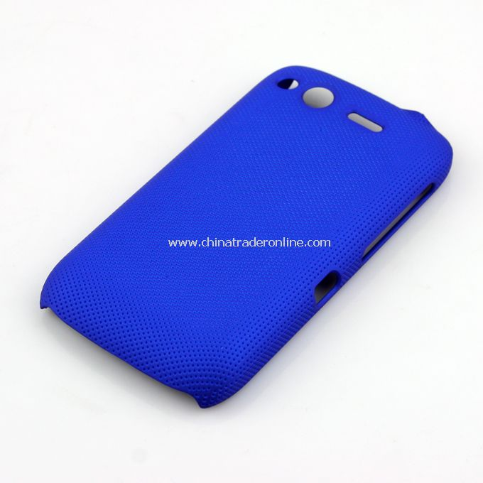 Plastic Hard Case Cover for HTC G12 blue
