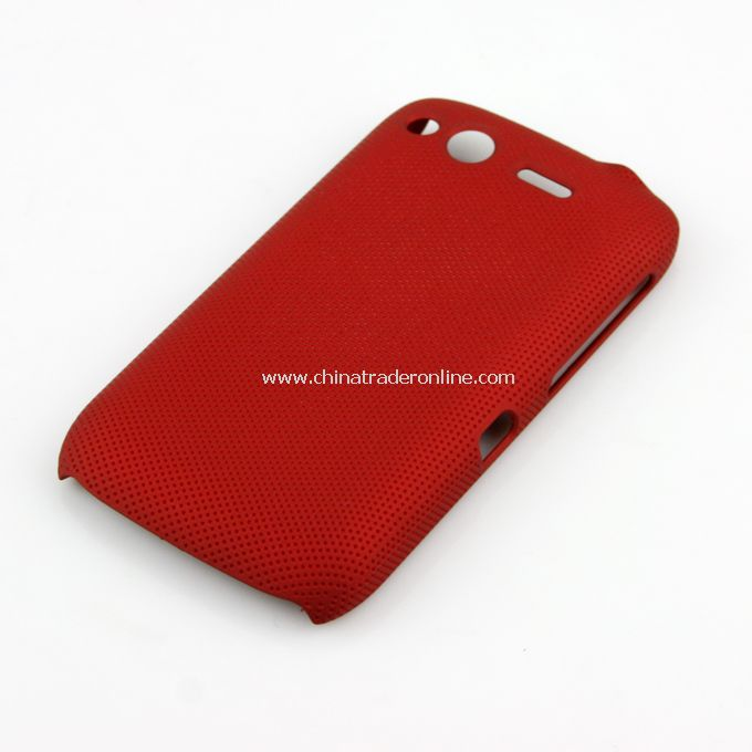 Plastic Hard Case Cover for HTC G12 red
